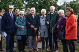 Local heroes unveil memorial at WWII Wythall crash site